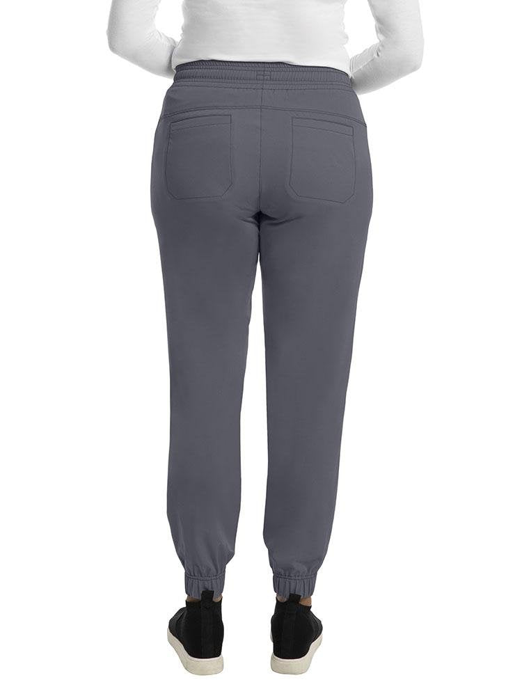 HH Works Women's Renee Jogger Scrub Pant | Pewter - Scrub Pro Uniforms