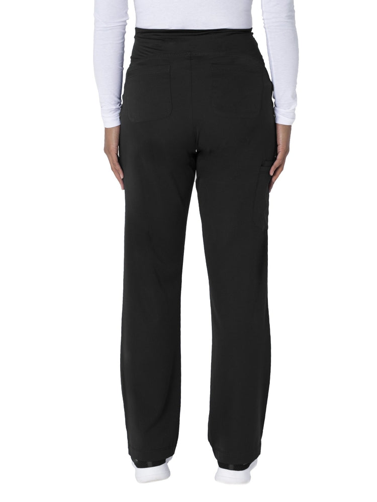 HH-Works Women's Rose Maternity Cargo Scrub Pant | Black - Scrub Pro Uniforms