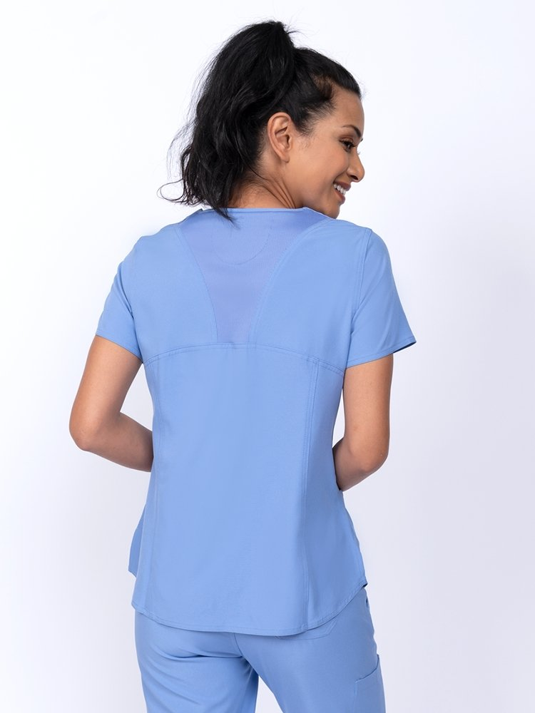 Meraki Sport Women's V-Neck Scrub Top | Ceil - Scrub Pro Uniforms