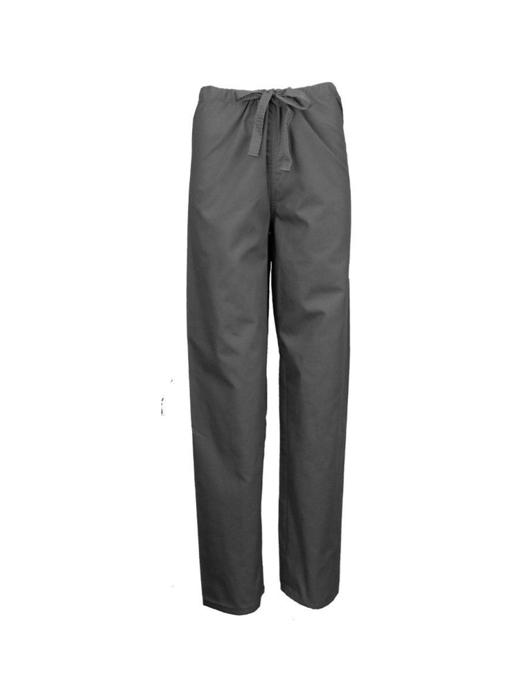 Pocketless Unisex Drawstring Cargo Scrub Pant | Pewter - Scrub Pro Uniforms