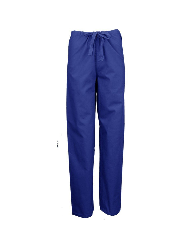Pocketless Unisex Drawstring Cargo Scrub Pant | Royal - Scrub Pro Uniforms