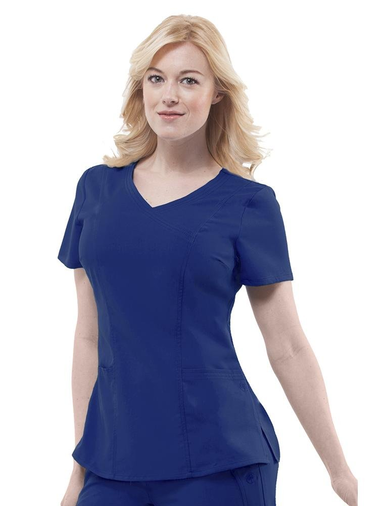 Purple Label Women's Jordan Crossover Scrub Top | Navy - Scrub Pro Uniforms