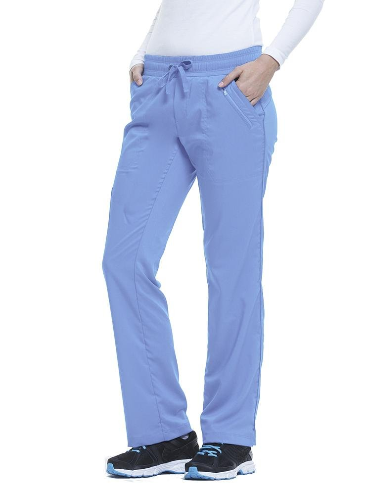 Purple Label Women's Tanya Drawstring Cargo Scrub Pant | Ceil - Scrub Pro Uniforms