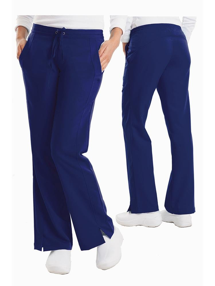 Purple Label Women's Taylor Drawstring Scrub Pant | Navy - Scrub Pro Uniforms