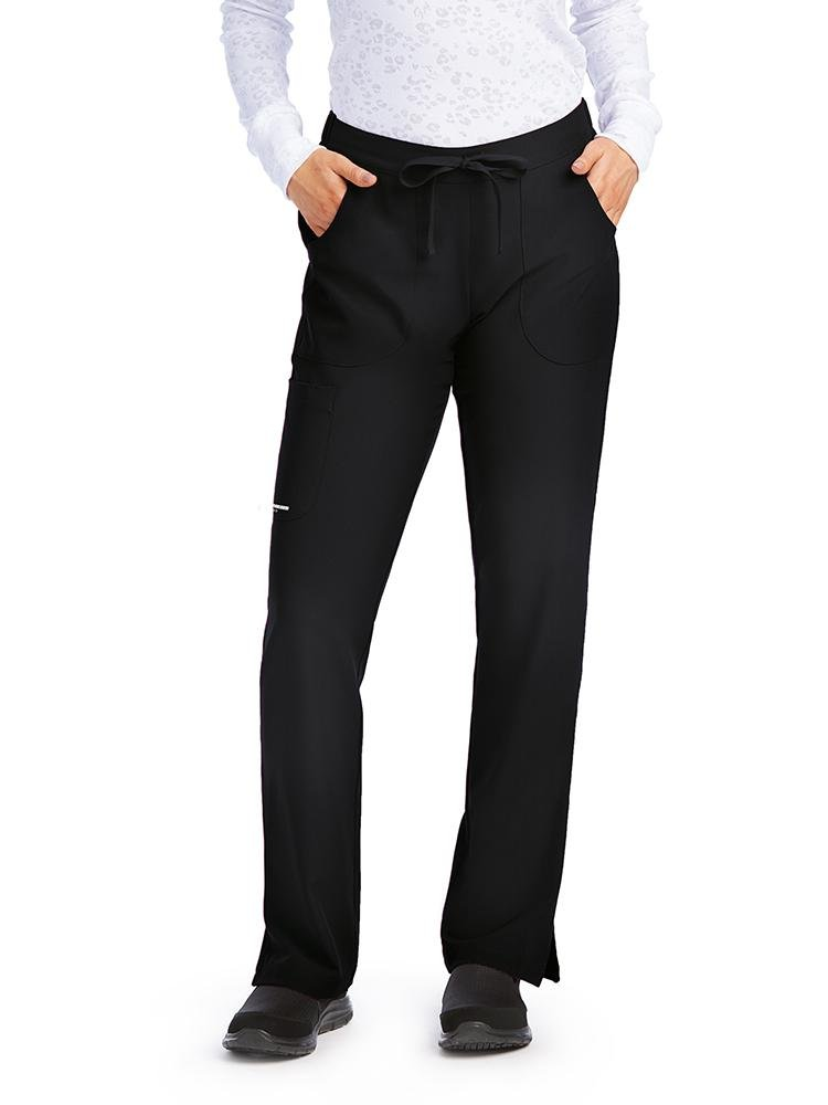 Skechers Women's Reliance Cargo Scrub Pants | Black - Scrub Pro Uniforms
