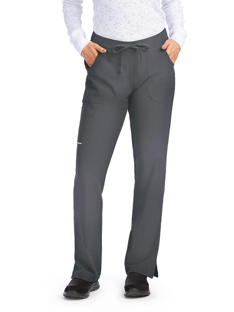 Skechers Women's Reliance Cargo Scrub Pants | Pewter - Scrub Pro Uniforms