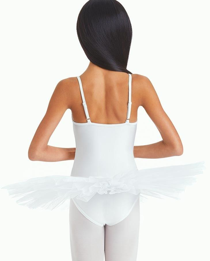 Capezio Adjustable Strap Tutu Bodysuit Child 10894C