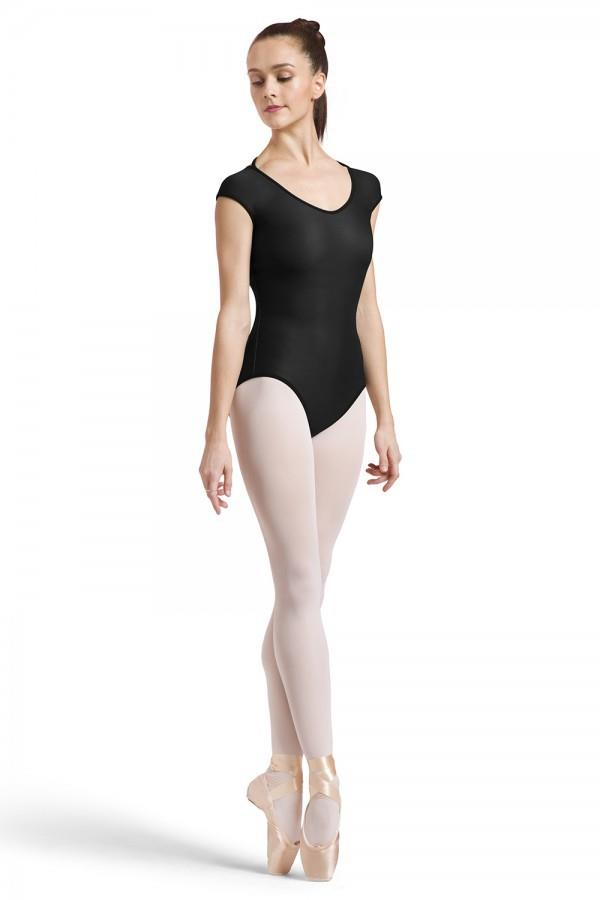 Bloch Reversible Cap Sleeve Bodysuit Adult L1822P