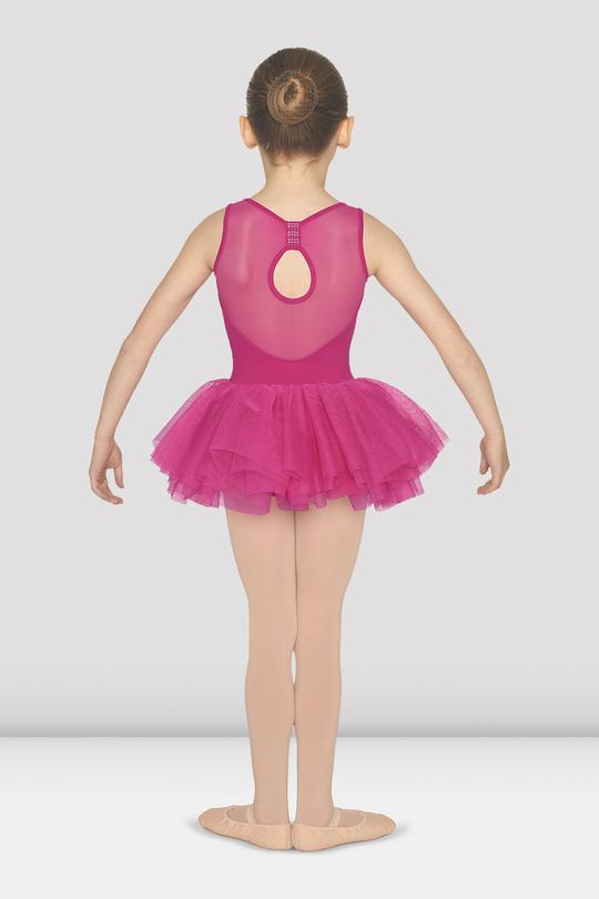 Bloch Bow Back Tank Tutu Bodysuit Child M1073C