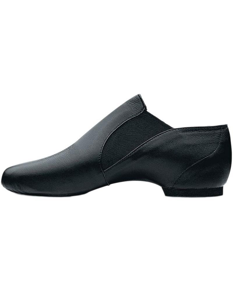 Bloch Elasta Bootie Black Jazz Shoe Adult S0499L