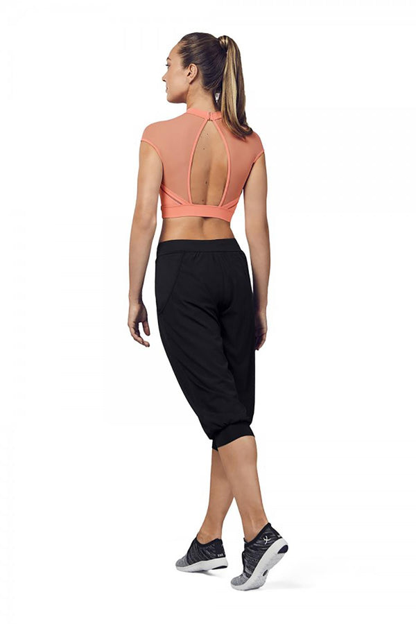 Bloch Perforated Crop Pant Adult FP5204