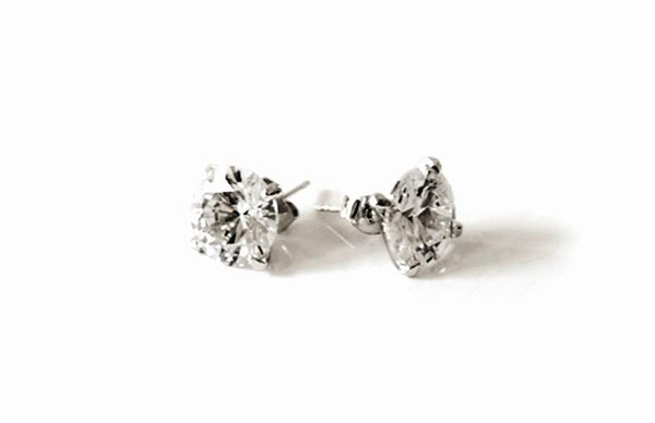 FH2 CZ 12mm Stud Earring Pierced AZ0018