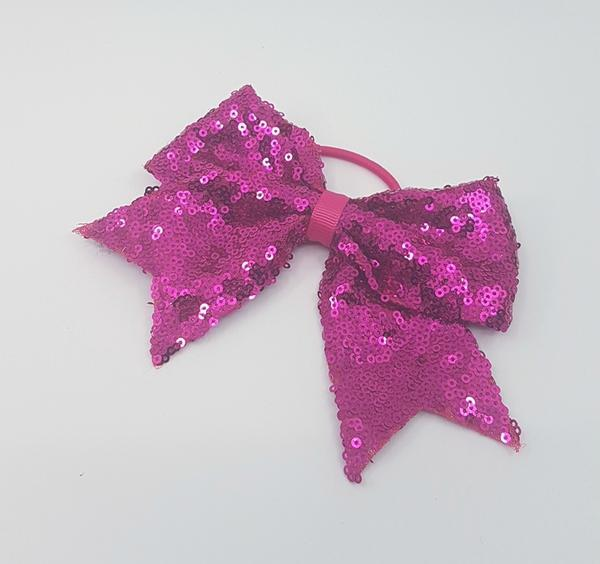 FH2 Sequin Bow Hair Tie PT0083