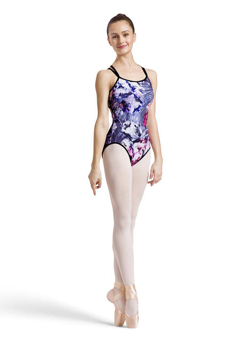 Bloch Reversible Twin Cross Strap Bodysuit Adult L1847