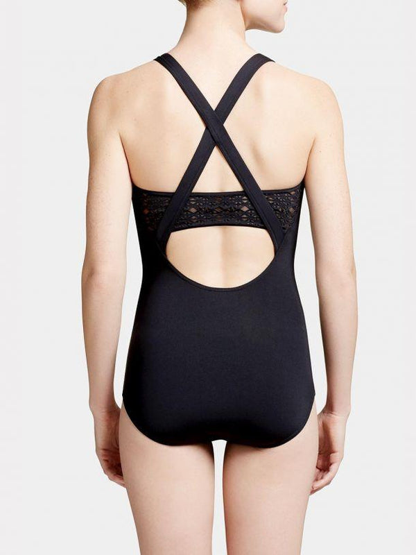 Capezio Cut-Out Tank Bodysuit Adult 11031W