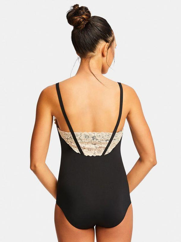 Capezio Encore V-Neck Bodysuit Adult 11169W