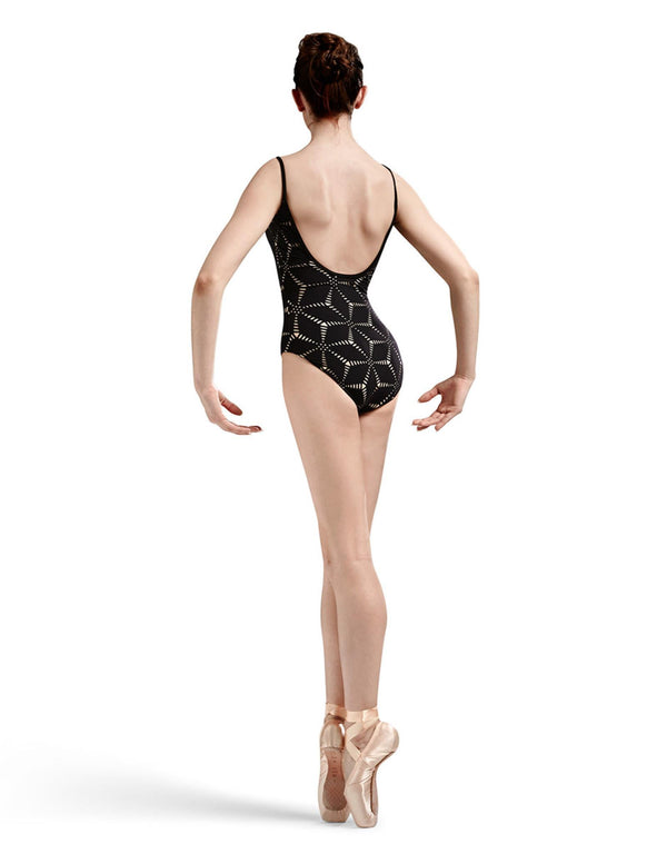 Bloch Mirella Origami Laser Cut Camisole Leotard Adult MJ7174