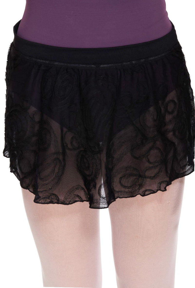 Bloch Swirl Mesh Ballet Skirt Adult R2811