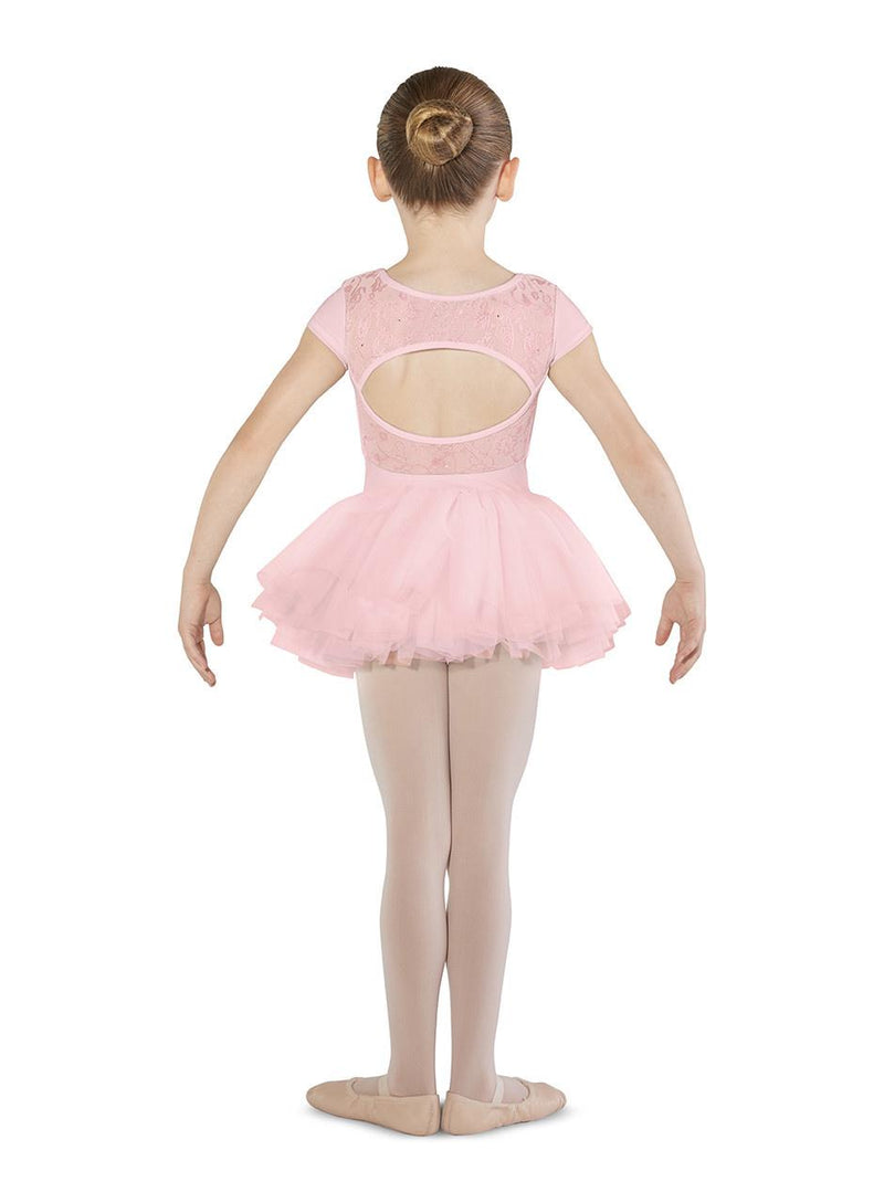 Bloch Mirella Flower Mesh Tutu Bodysuit Child M1511C