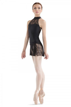 Bloch Enam Black Lace Skirt Adult R1990