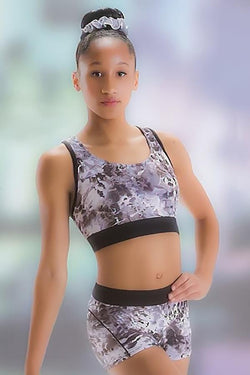 Motionwear Racerback Crop Top Child 1166