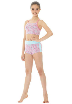 Mondor Vinna Contrast Wide Waistband Short Child 4503C