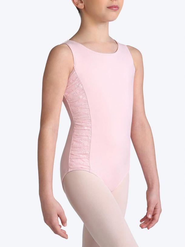 Capezio Bunches of Beauty Tank Bodysuit Child 11122C