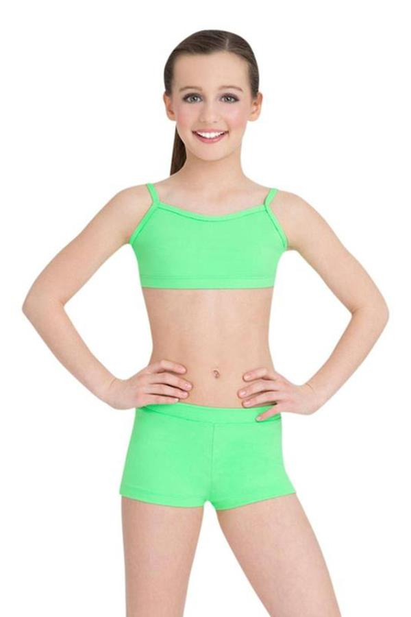 Capezio Adjustable Strap Lined Camisole Bra Top Child TB102C
