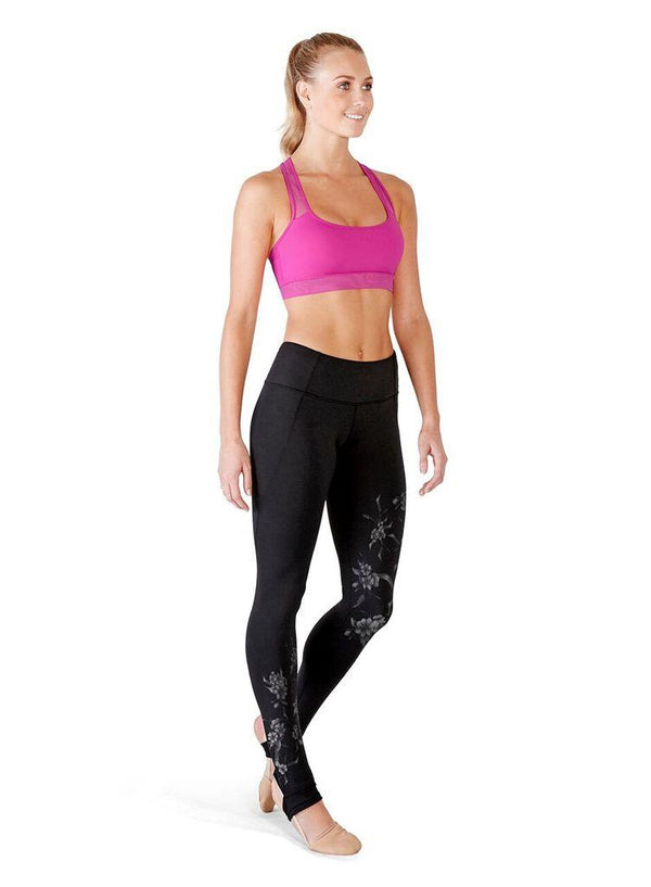 Bloch Printed Stirrup Legging Adult FP5005