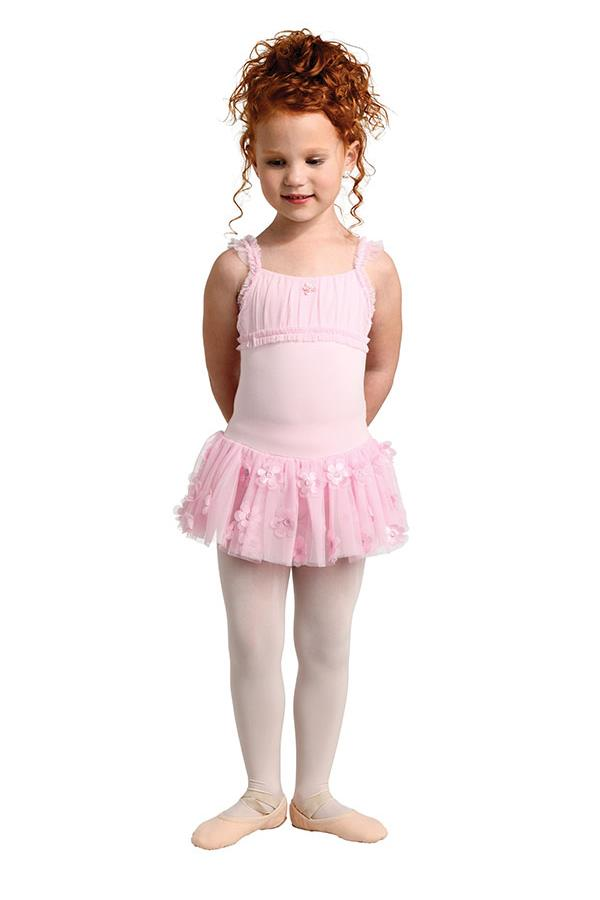 Danshuz Classic Camisole Dress Bodysuit Child 2469C