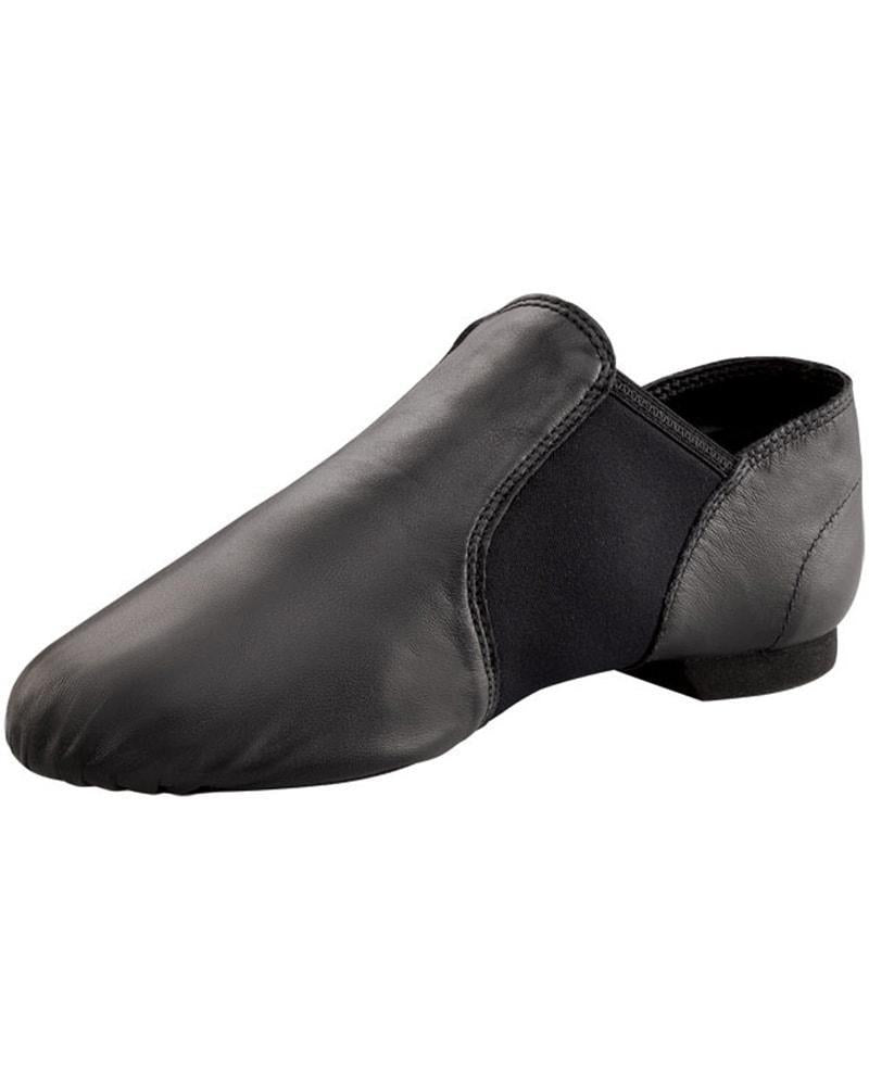 Capezio E-Series Black Slip-On Jazz Shoe Child EJ2C