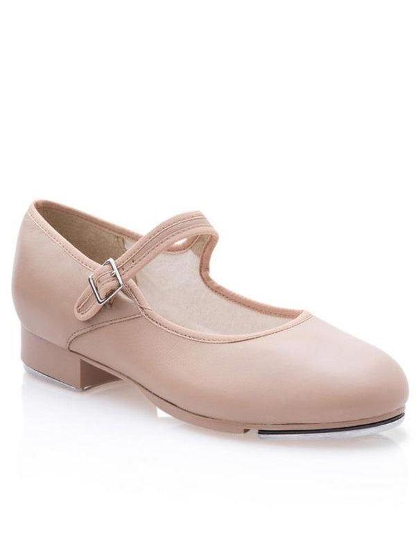 Capezio Mary Jane Caramel Tap Shoe Toddler 3800T