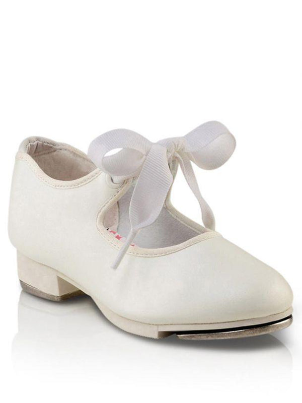 Capezio JR Tyette White Tap Shoe Adult N625