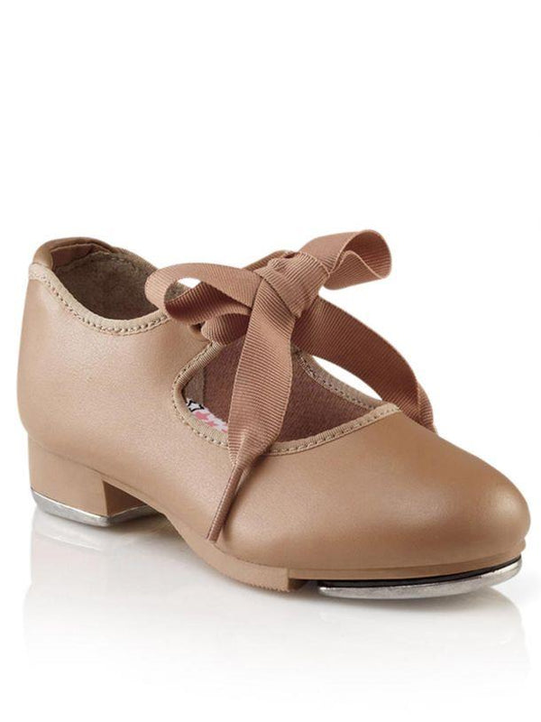 Capezio JR Tyette Caramel Tap Shoe Child N625C