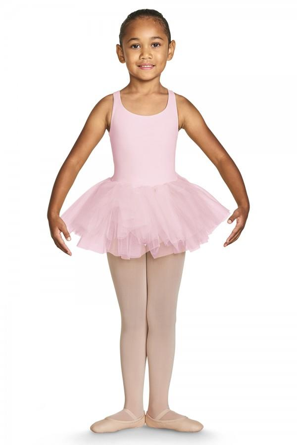 Bloch Gelato Strap Tank Tutu Bodysuit Child CL7835