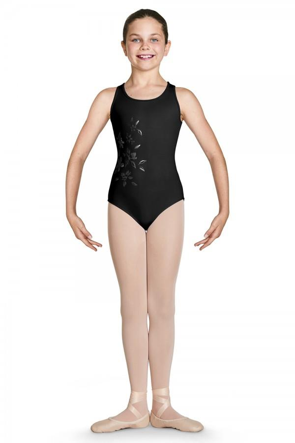 Bloch Katana Mesh Wrap Back Tank Bodysuit Child CL4920