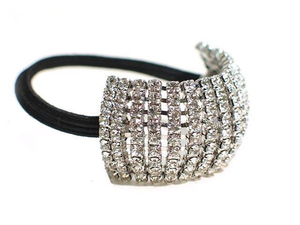 FH2 Stretchy Crystal Rhinestone Ponytail Holder AY0062