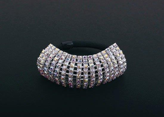 FH2 Stretchy AB Rhinestone Ponytail Holder AY0062-1