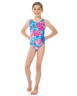 Mondor Printed Gymnastics Leotard Child 7882