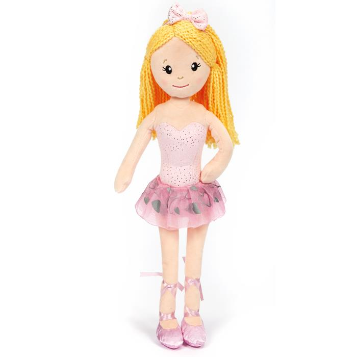 Dasha Designs Plush Ballerina Doll 6280A
