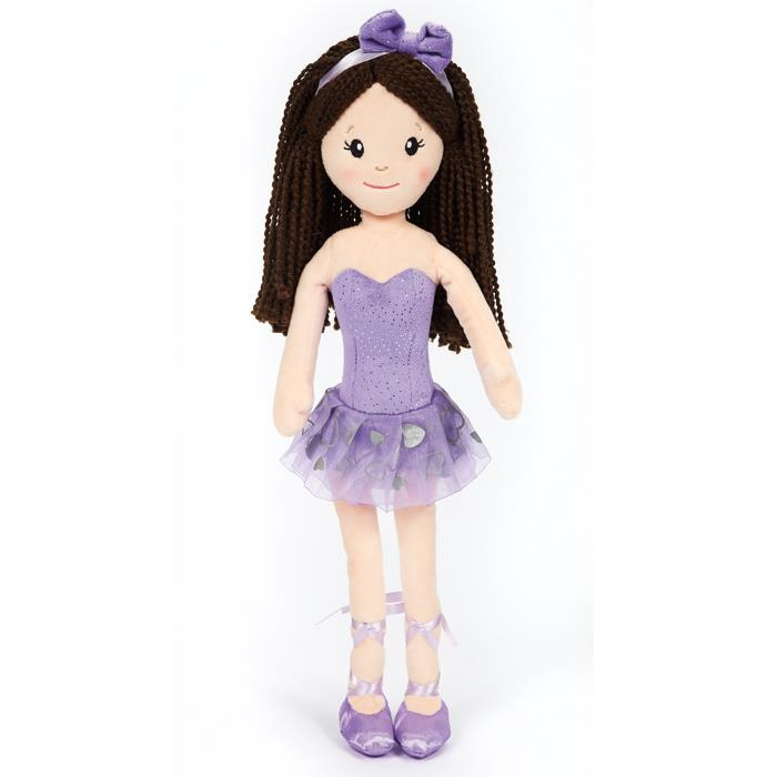 Dasha Designs Plush Ballerina Doll 6280B