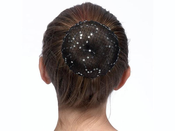 Dasha Sequin Accent Bun Cover 2125