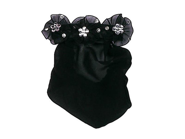 Dasha Jeweled Pinwheel Snood Bun Cover 4007