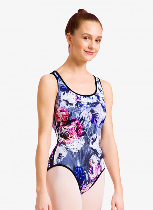 Bloch Reversible Open Bow Back Bodysuit Adult L1815P