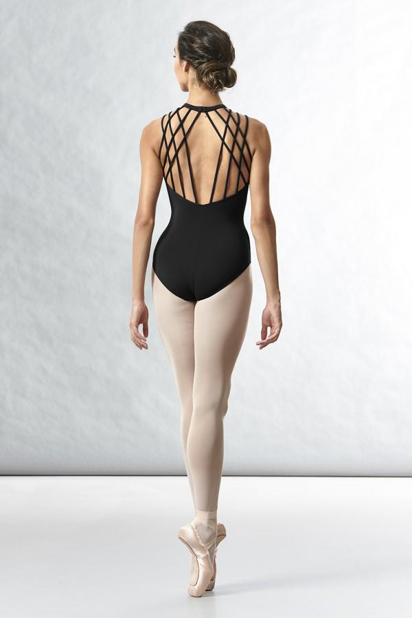 Bloch Sakura Rouleaux Loop Back Bodysuit Adult L8755