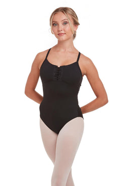 Bloch Alandra Lace-Up Camisole Bodysuit Adult L4887
