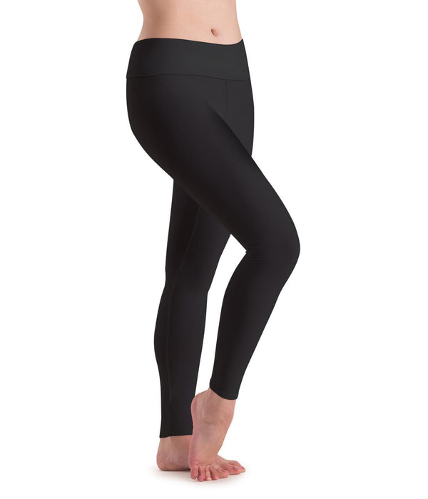Motionwear High Waist Ankle Length Leggings Adult 7018