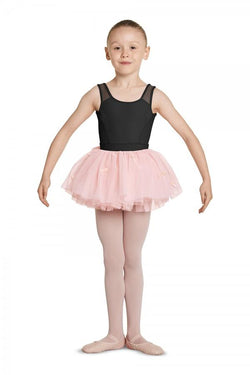 Bloch Mirella Velvet Bow Tutu Skirt Child MS136C