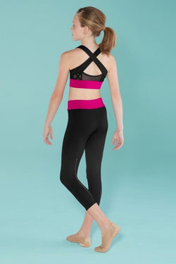 Bloch Ladder Trim 7/8 Legging Child BM251P