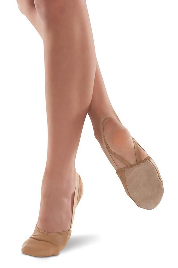 DanzNMotion Half Body Foot Sole Lyrical/Contemporary Shoe Adult 363